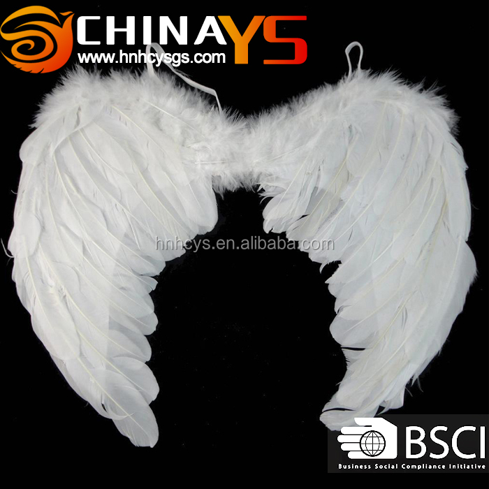 Fashion Carnival stage property costume whilte YS 8048 55x50cm angel wings
