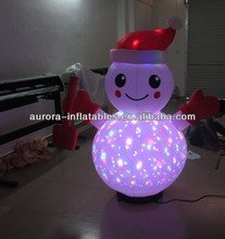 inflatable lighting christmas for party decoration ready for shipment