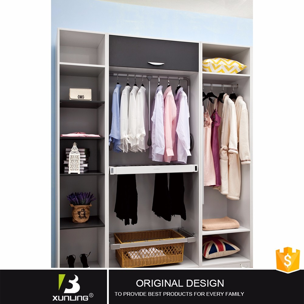 Hanging Clothes Almirah Wholesale Laminate Wardrobe Designs