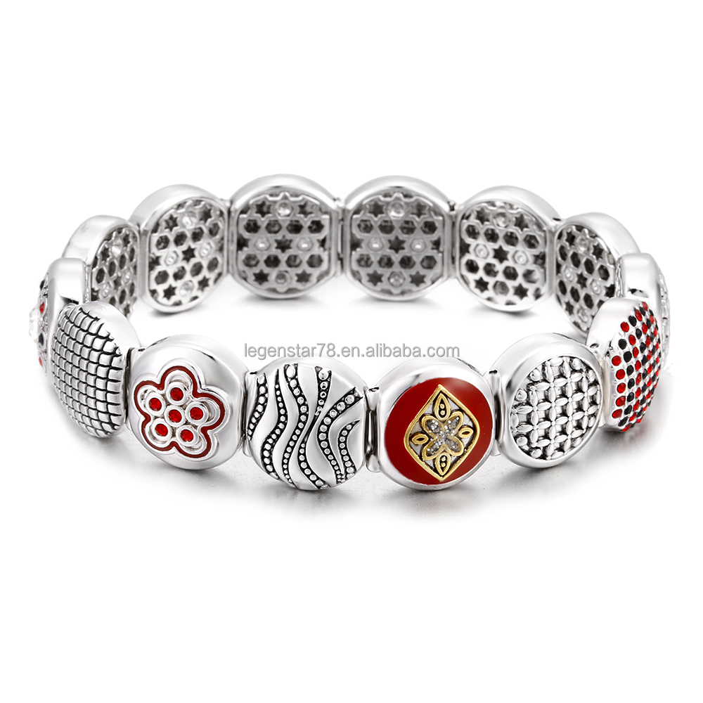 [Sponsored]Elastic Tree of life Bracelet with Changeable Modular Links q4R5mO