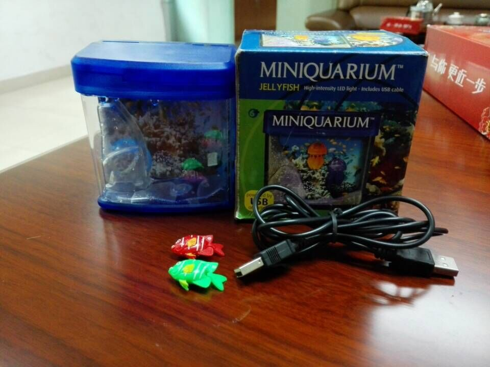 Led Lights Battery Operated Mini Aquarium Toy