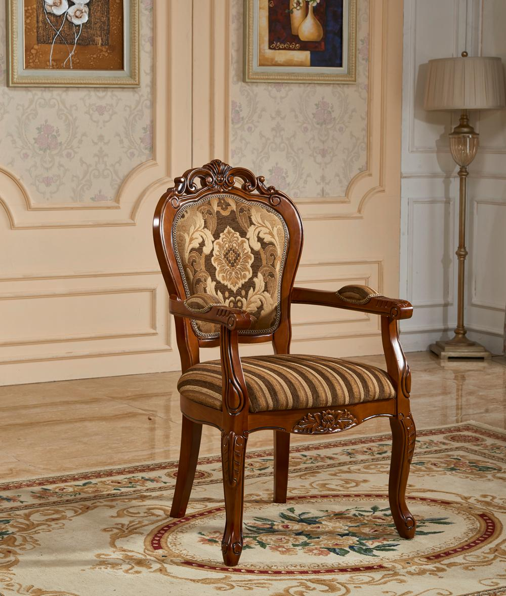 Versailles Milano Classic Arab Dining Simple Wooden Chair Designs
