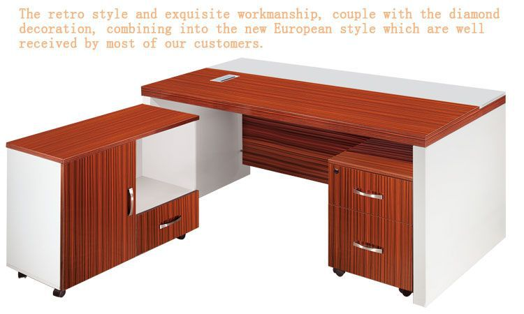 Manager Desk Brilliant Painted Office Furniture Office Counter ...