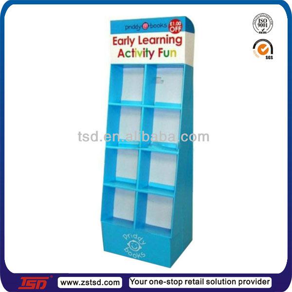 Tsd-w555 Custom High Quality Shop Display Book Racks,Wooden Book ...