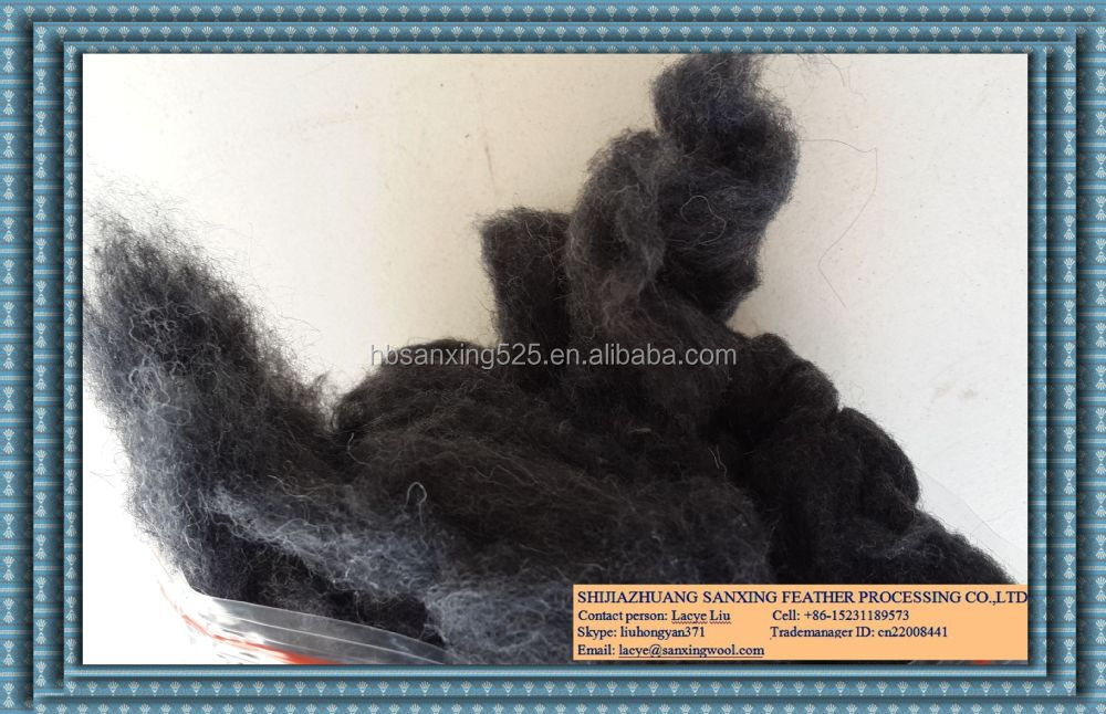 22micron, wool content 80% above, textile waste, yarn waste carding