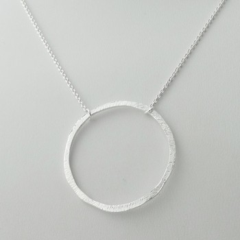 925 sterling silver big ring circle karma pendant necklace buy 925 sterling silver big ring circle karma pendant necklace mozeypictures Gallery