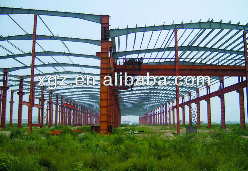Cheap steel structure workshop