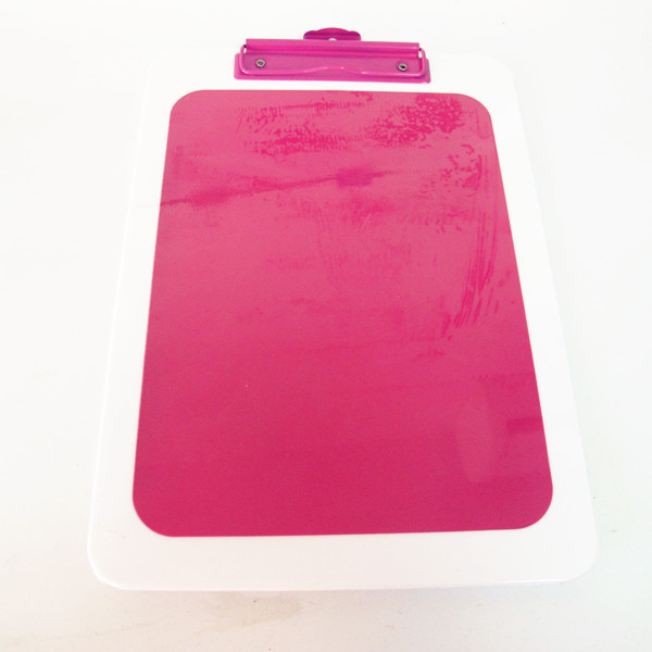 Wholesale clipboard fashion stationary with custom color clip board