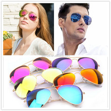 Cheap Multi Color Sports Mirror Aviator Retro Sunglasses