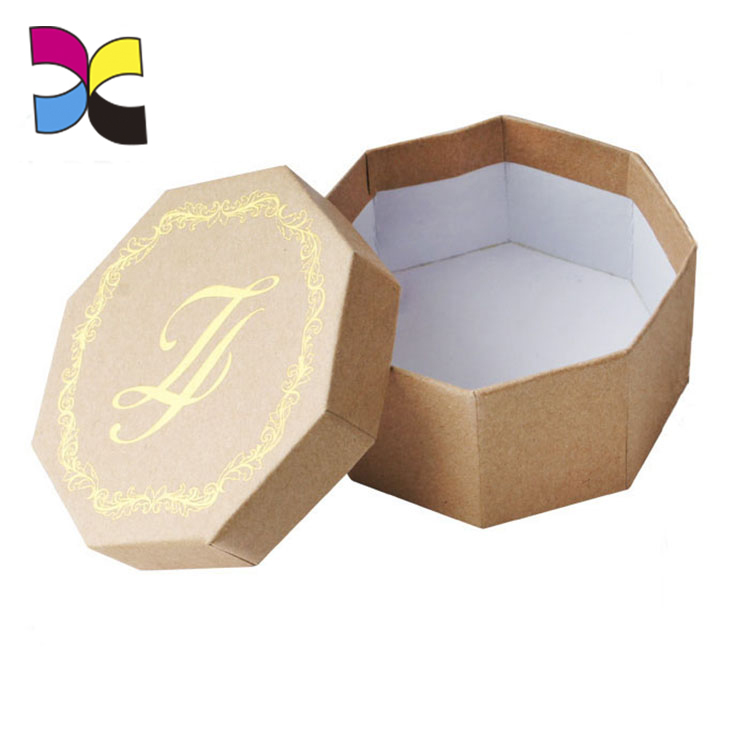 OEM custom good quality small different shape wedding invitation box