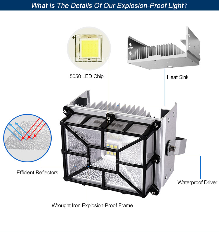 High lumen waterproof 150w maine led floodlight anti corrosive