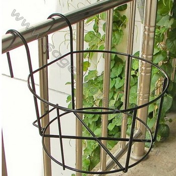over the rail flower pot holder buy bracket window box deck bracket window box deck railing. Black Bedroom Furniture Sets. Home Design Ideas