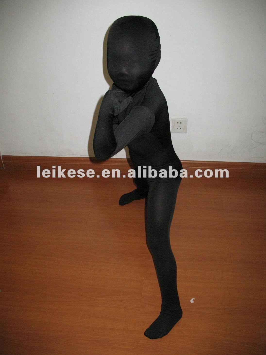 black kids full body spandex suit