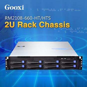 "2u 8 Bays Server Chassis Gooxi 19"" Hot-swap Micro-atx Sgcc Depth ..."