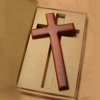 Wholesale cheap carved wood cross