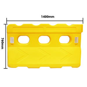 high quality traffic safety water filled barrier manufacture