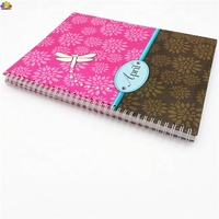 Hard Cover High Quality School Easy Tear Spring Binder Custom Bulk Spiral Notebooks