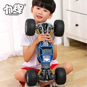 Kids Xmas Gifts 2.4G Double Sided Stunt Big Remote Control Car Model Off Road Vehicle Toy Pangolin RC Rock Crawler