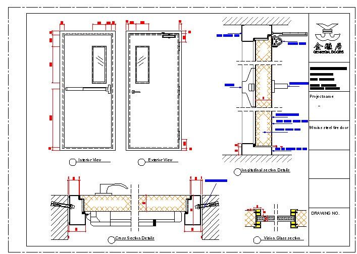1 Hour 2 Hours Emergency Exit Fire Rating Steel Door Buy