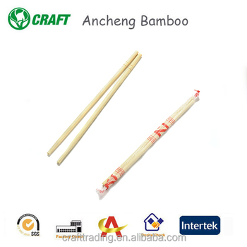 Chinese tableware bamboo wooden sticks tensoge disposable chopsticks