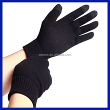 2015 Amazon supplier Yuanhao Black Thinsulate Thermal Lined Smartwool Touch Winter Gloves