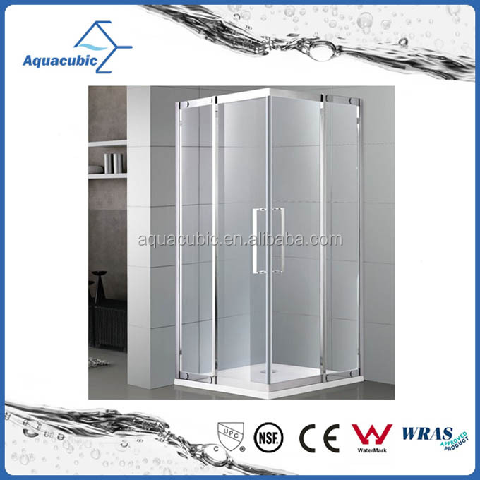 Prefab portable simple shower room & complete shower enclosure (AE-BFGL822)