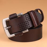 Vintage Hollow Fashion Design Men's Genuine Leather Belt