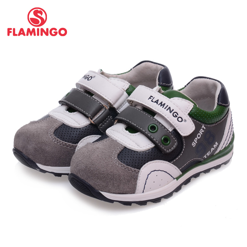 FLAMINGO 100% Russian Famous Brand 2016 New Arrival Spring & Autumn Kids Fashion High Quality shoes 61-XP122