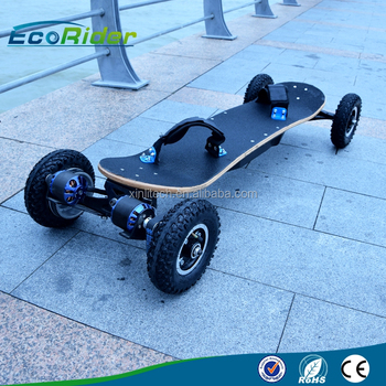 Lithium Battery Ed Brushless Hub Motor Hoverboard Electric Skateboard Off Road 4 Wheel Scooter