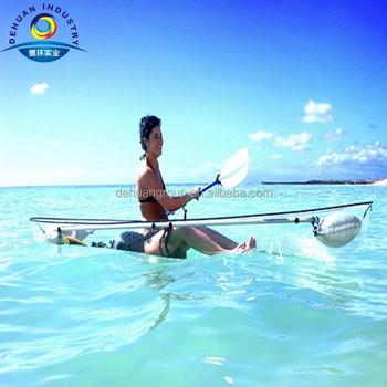 Cheap Transparent Kayak New Design Clear Kayak Complete