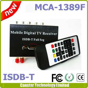 2017 Mobile Digital TV Tuner Receiver Car ISDB-T for Brazil