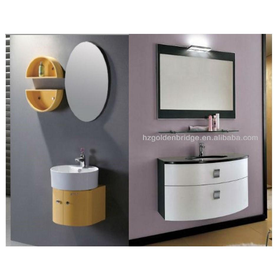 Qierao Gb-105-3 Curved Round Pvc Rv Bathroom Vanity Cabinet - Buy ...