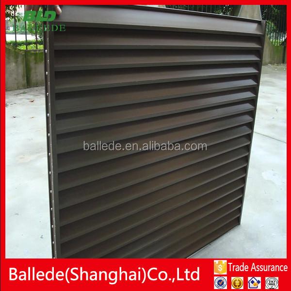 Aluminum Profile Sun Louver/sun Shutter/window Blind
