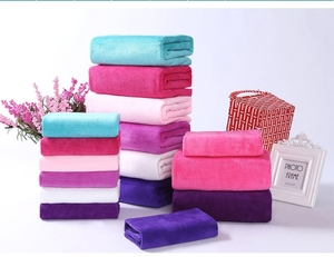 Microfiber super dry soft anti-bacterial salon hair wipe towels