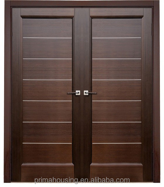 Double Interior Swing Solid Wooden Door,Door Price   Buy Double Swing  Interior Door,Wood Glass Door Design,Interior Glass Wood Double Door  Product On ...