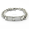 SSB100008 Men's Unique Style Stainless Steel Chain Silver Bracelet