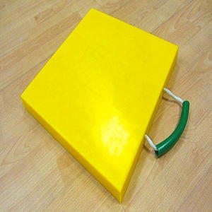 plastic hdpe used mobile crane outrigger pads