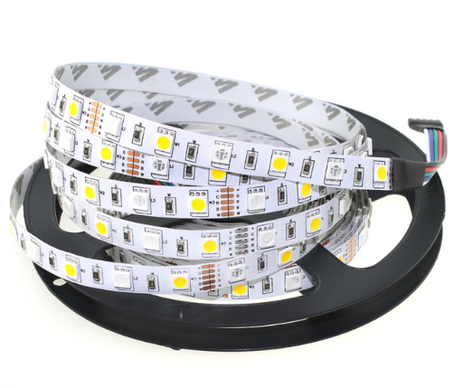 A3 LED Strip 5050 RGBW Waterproof DC12V Flexible LED Light <strong>RGB</strong> + White / <strong>RGB</strong> + Warm White 60 LED/m 5m/lot