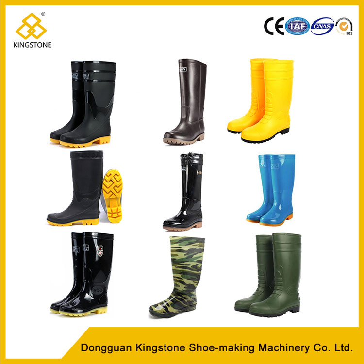 PVC Safety Working Long Rain Boots Making Machinery