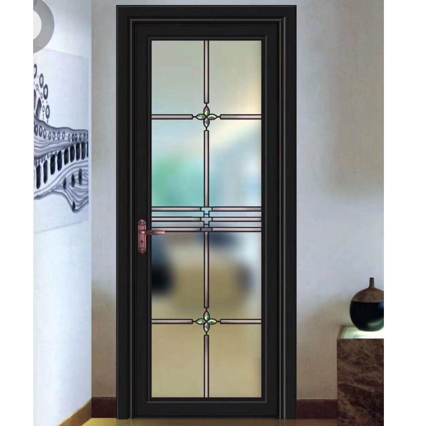 Sound insulation double glazed powder coated white color thermal break aluminum alloy frame casement cheap house <strong>doors</strong> for sal
