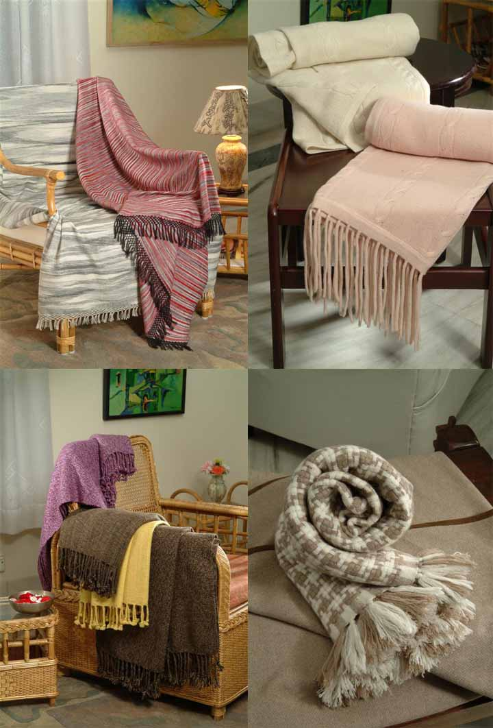 100% Cashmere Throws II