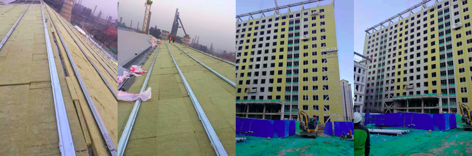 sound insulation rock wool for heat prevention and sound-absorbing