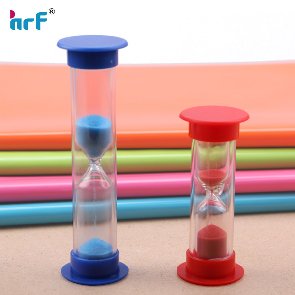 2 mins Mini glass sand timer hourglass ,Colorful Hourglass Sandglass Sand Clock Timers