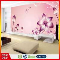light purple of the large mural wallpapers covering wall seamless wall paper