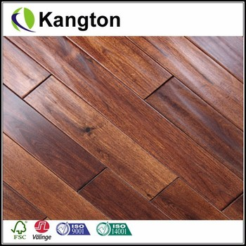Oiled Hickory Rustic Hand Scraped Solid Engineered Hardwood Wood