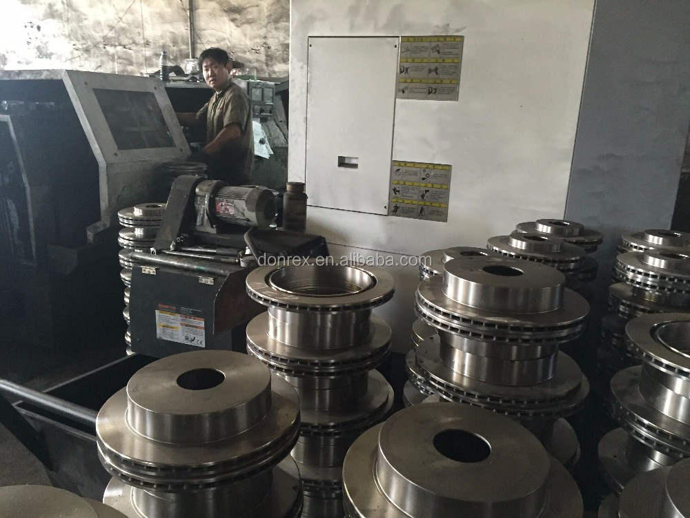 machine brake rotors cost