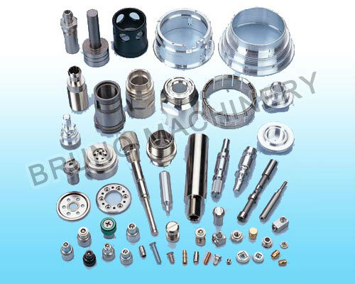 CNC Turning micro Aluminum parts OEM machining