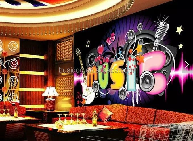 Hot Wallpaper 3d Murales De Pared Para Bar Y Ktv Decoracion Papel
