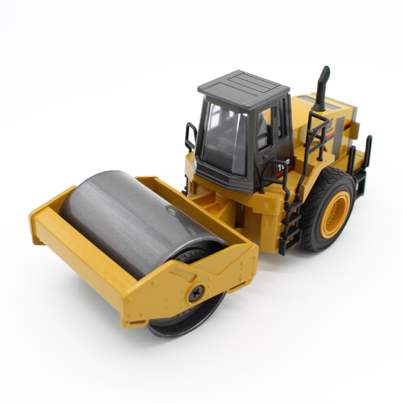 HUINA 1915 1:40 Diecast stastic Alloy Road roller Model