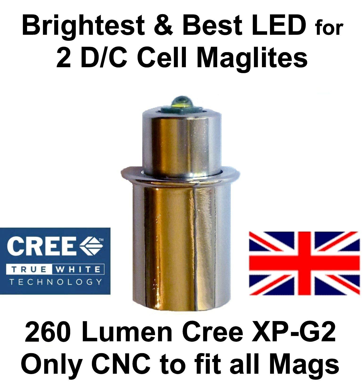 EBLCL CE ROHS FCC Maglite LED Upgrade Module CREE XP-G2 S4 LED Upgrade Bulb 2...